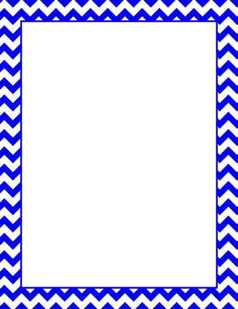 Printable Blue Chevron Border Free Gif Jpg Pdf And Png Downloads At