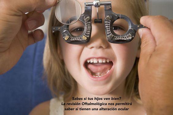 Sabes si tus hijos ven bien? Haz tu Cita! 044 55 69 81 38 92 · 044 55 48 05 19 68 Visítanos! www.oftalmologialaser.com