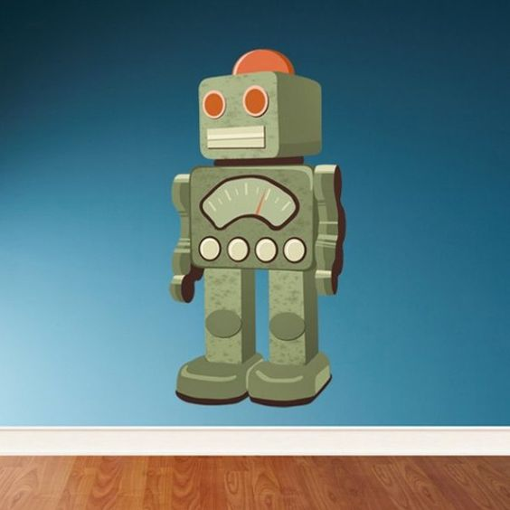 Retro Robot - Robbie