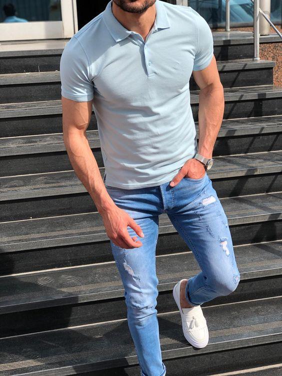 Quần jeans nên phối với áo gì thì hợp