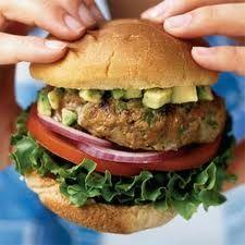 Turkey burger w/avacado