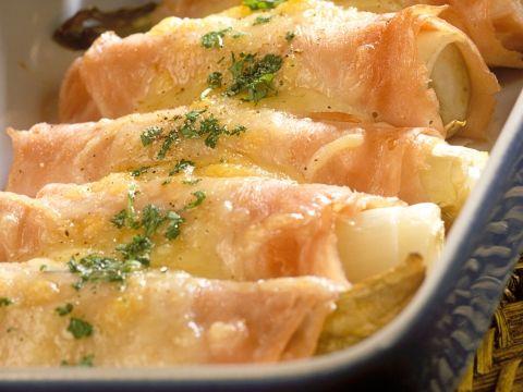 Witloof met hesp en kaas