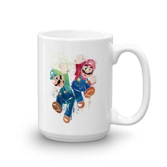 Mario X Luigi Mug