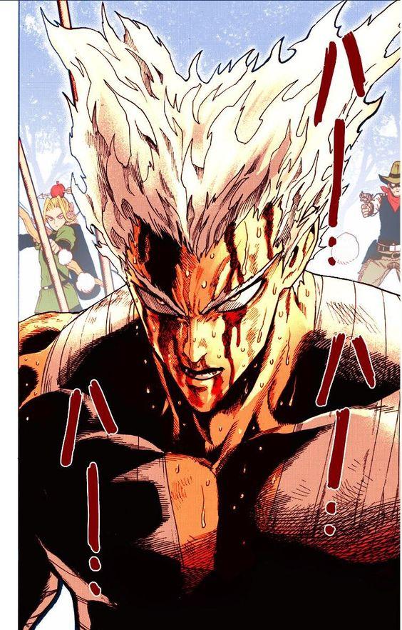 Garou Colored Manga Page One Punch Man Manga One Punch Man Anime One Punch Man