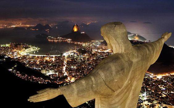 Deus abençoe a Cidade Maravilhosa!   Parabéns pelo aniversário do Rio de Janeiro - 1 de março**   Obrigada por suas eternas belezas...  Salve Salve!!!!  figura reproduzida
