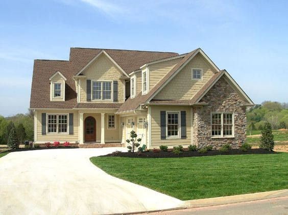 Cottage style by luxe homes & design, knoxville builder ...