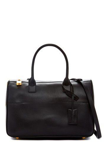 Yves Saint Laurent Leather Satchel by Non Specific on @HauteLook
