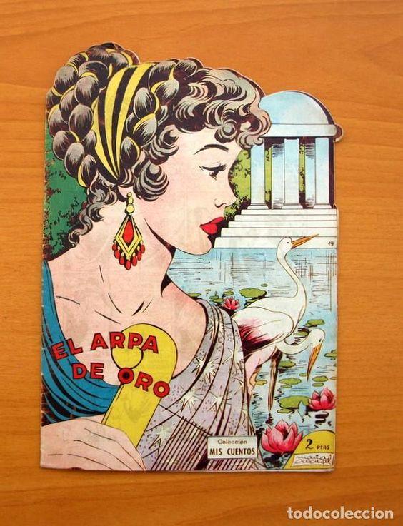 Colección Mis Cuentos - Nº 19 El Arpa de Oro - Ediciones Toray: