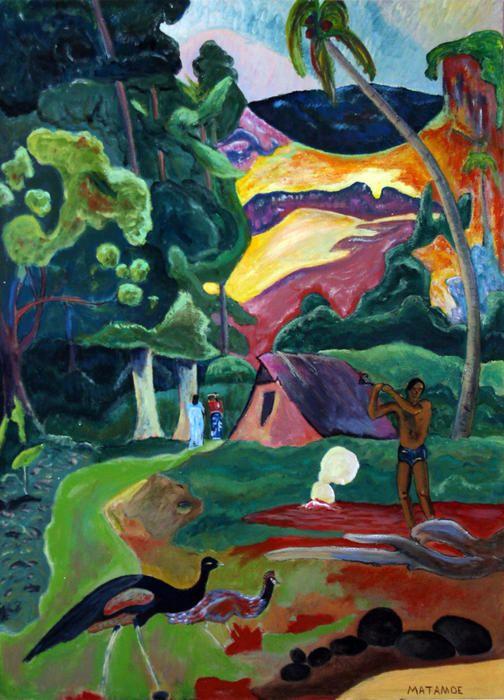 Paul Gauguin - Mata Moe