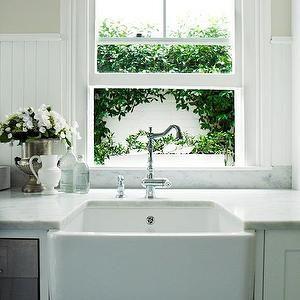 kitchens - farmhouse sink, apron sink, beadboard, beadboard backsplash ...