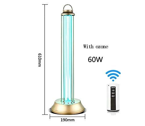 Uv Light Disinfection Uv Disinfection Lamps Ozone Lamp To Kill Viruses And Bacteria Fungi 99 9 Mite Lamp Lamp Holder Remote Control 60w No Ozone Outdoor Yo In 2020 Disinfect Uv Light Lamp Holder