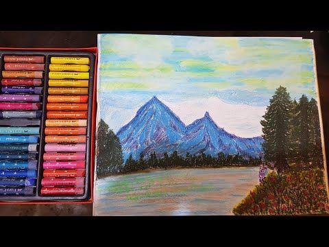 Youtube Oil Pastel Art Painting