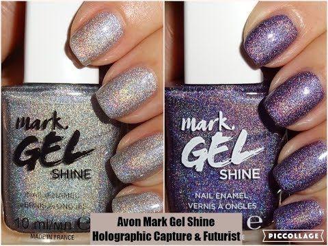 Avon Mark Gel Shine Nail Enamel Holographic Capture Futurist Avonuk Holographic Holographicnails Avon Avonmarkgelshine Mym Avon Mark Avon Nails Nails