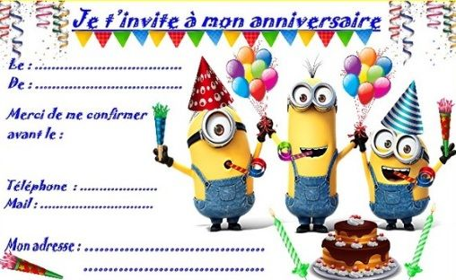Carte D Invitation Anniversaire Garcon Invitation Anniversaire Garcon Modele Carte Invitation Anniversaire Cartes Invitation Anniversaire Enfant