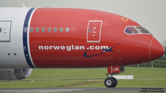 Mateusz Koziatek ✈  Norwegian Air Boeing 787-8 Dreamliner Aircraft Reg: EI-LNE | Flickr - Photo Sharing!