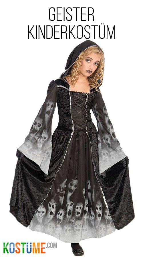 Seelenfangerin Geister Kostum Fur Madchen Madchen Kostume Kostume Kinder Madchen Geist Kostum