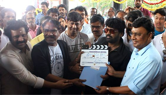Director Bharathiraja, K Bhagyaraj At November Mazhaiyil Naanum Avalum Movie Pooja