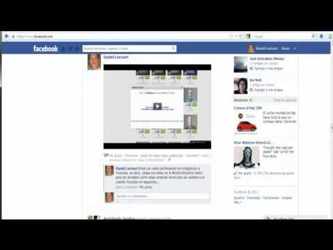 Email con video iWowWe latino integracion con Facebook
