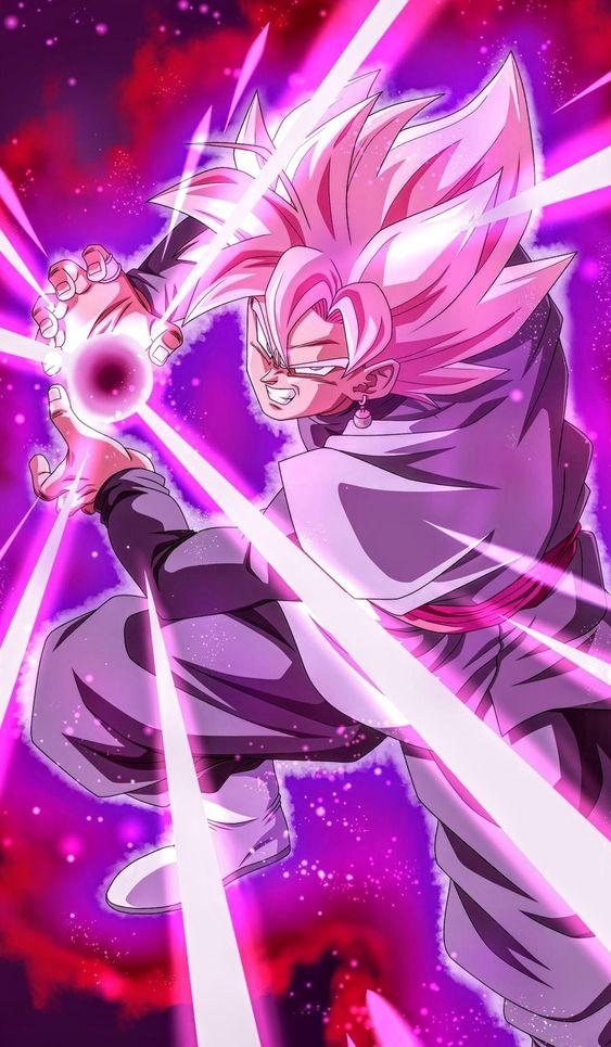 Goku Black Rose Dragon Ball Wallpaper Iphone Dragon Ball Wallpapers Dragon Ball Super Artwork