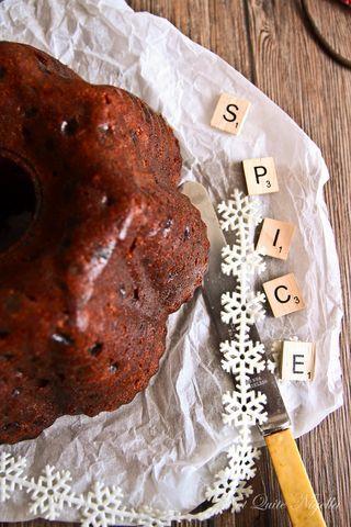 The Three Week Christmas Spice Cake