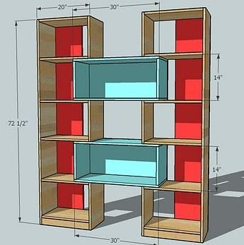 bookcase plans shelves bookshelf plans lego display shelving record ...