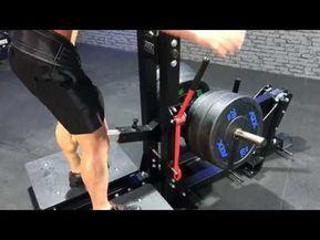 Atx Belt Squat Machine Máquina De Sentadillas Y Fondos Squat Machine Gym Machines Gym Design
