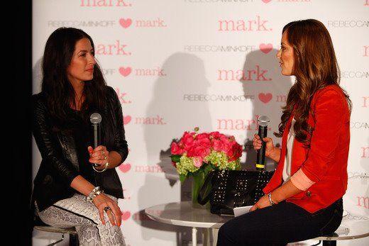 #rebeccaminkoff <3's mark event! Rebecca with #NicoleLapin