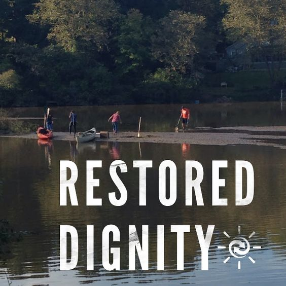 Restored Dignity- after the flood-Vintage Grace