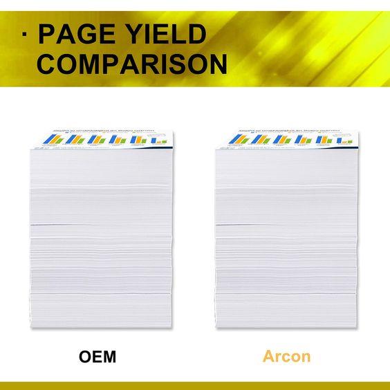 Arcon 4 Pack Compatible For Hp 410a Cf410a Hp 410x Cf410x Toner Cartridge Hp Color Laserjet Pro Mfp M477fnw M477fdn M477fdw M477 M452dn M452dw M Bar Chart Chart
