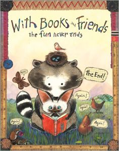 Books and Friends Poster - New Products - Posters - ALA Store