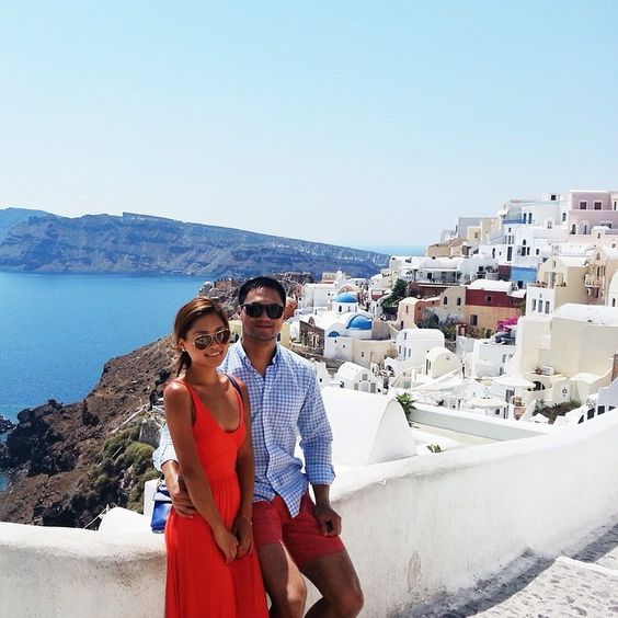 #fbf Our first international trip. Seems like decades ago! #santorini #greece @rockmeng