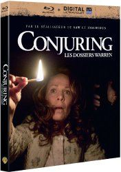 Conjuring : les dossiers Warren : Blu-Ray + DIGITAL Ultraviolet