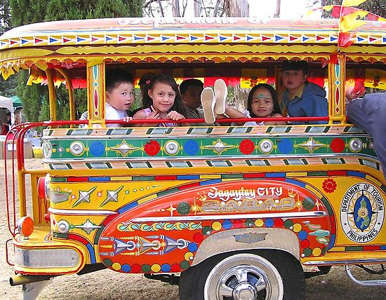 Aircon and non aircon buses in the philippines