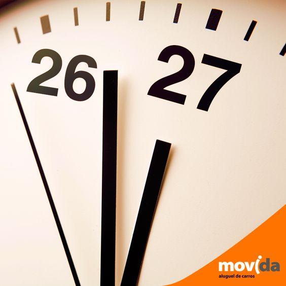 Relaxa que o feriado acaba primeiro pros outros. O seu pode durar 3 horas a mais. Com a gente, se o seu carro for devolvido dentro do horário de funcionamento da loja, a diária é de 27 horas no dia da devolução, tá, meu bem?! =*