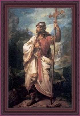 King Pelayo of Asturias