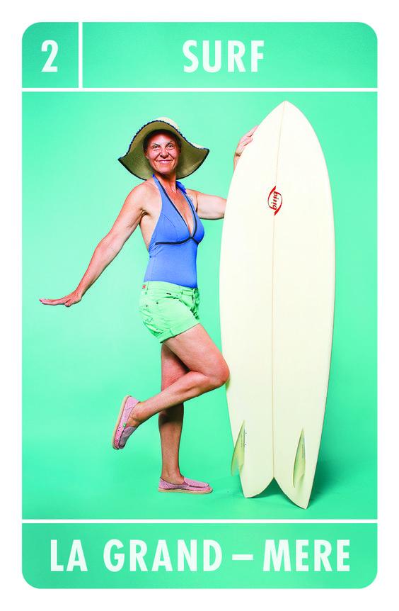 Dans la famille #surf, je voudrais la grand-mère ! Découvrez notre jeu de 7 familles #TrendSoshiety avec #WAD.