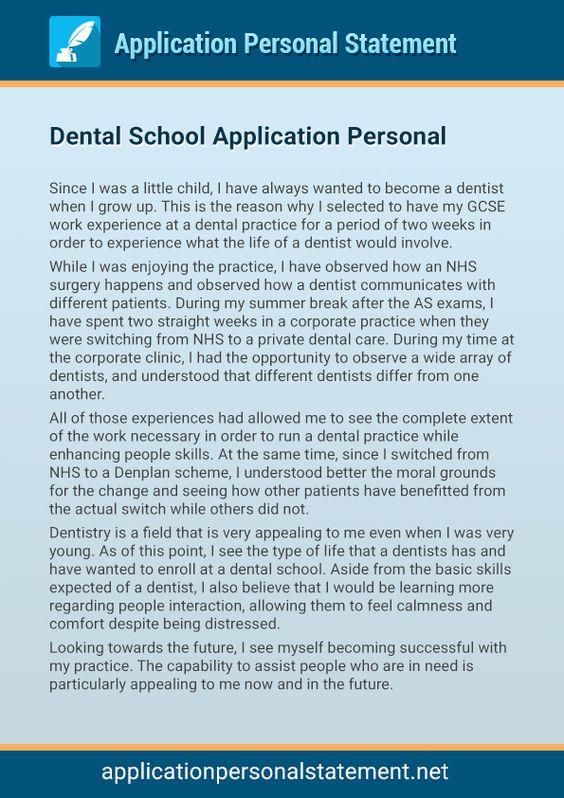 Dental School Essay Sample} - pevita