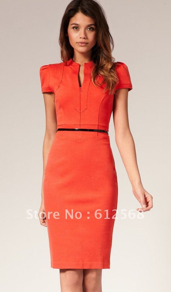 Petite Sophisticate Ruby Red Dress size 6  Business dresses The ...