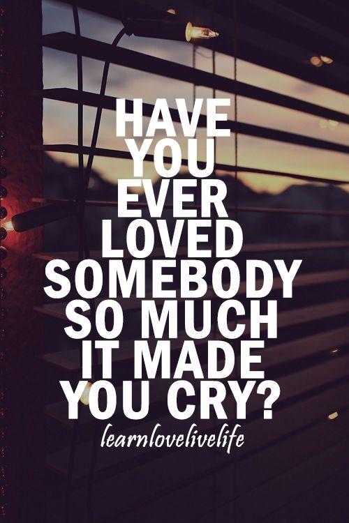 Thats why i love him like i do