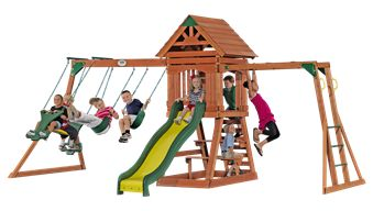 Way better than the swing set I had as a kid!