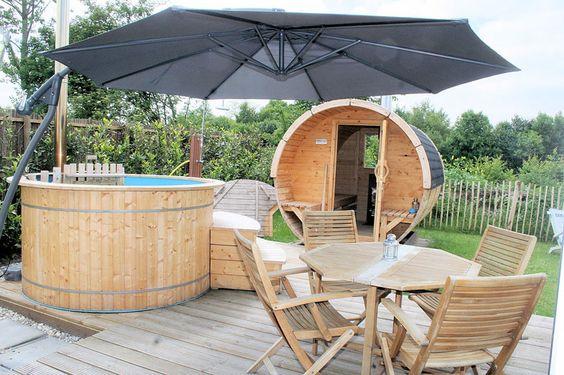 Welnesshuisje beau de luxe wellness vakantiehuis met for Vakantiehuis met jacuzzi