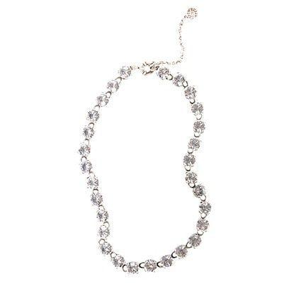 Necklaces? bridesmaid-attire-christina-s-wedding