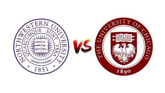COMPARE NORTHWESTERN UNIVERSITY vs. UNIVERSITY OF CHICAGO
