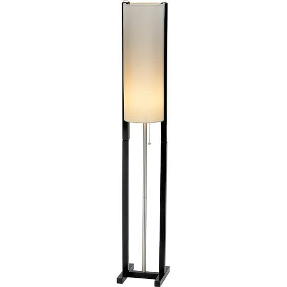 Adesso Middleton Floor Lamp Black