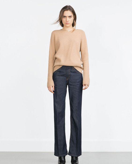Le pull rentré négligemment dans le jean