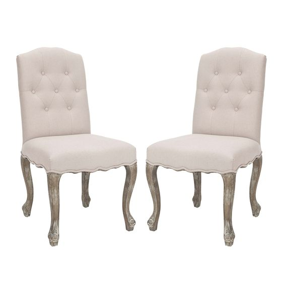 Shop Safavieh  MCR4553A-SET2 Vicky Side Chair (Set of 2) at ATG Stores. Browse our dining chairs, all with free shipping and best price guaranteed.