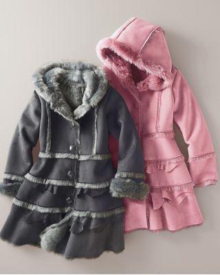 Coats Shearling coat and Faux shearling coat on Pinterest