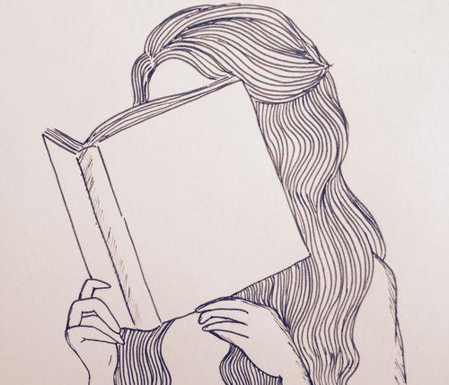 girl reading tumblr - Buscar con Google