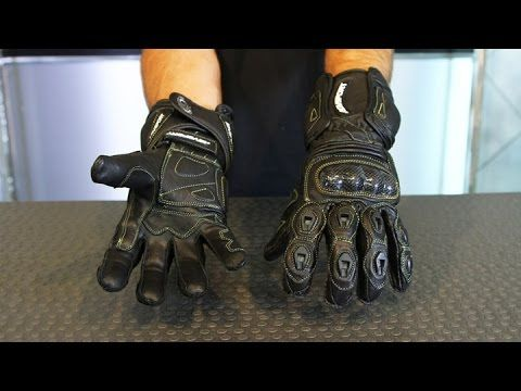 AGV Sport Laguna Leather Gloves from Motorcycle-Superstore.com - YouTube