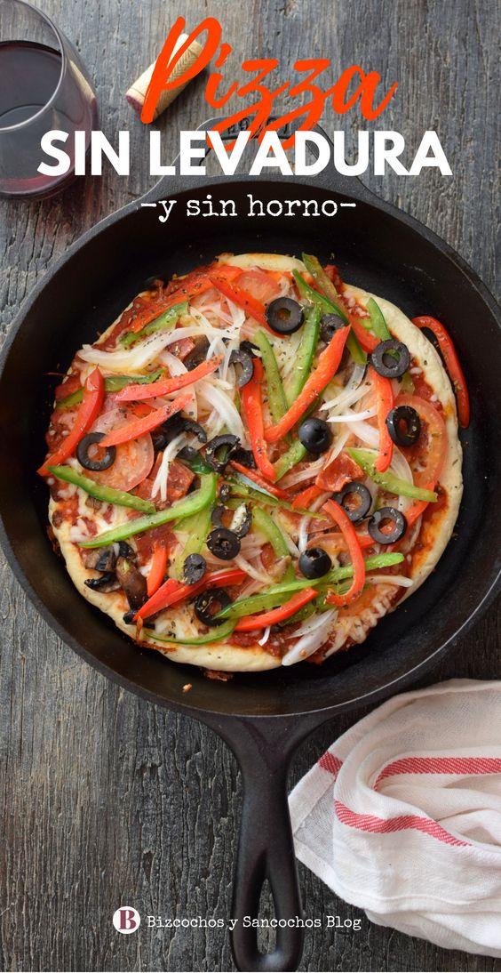 como hacer la masa de la pizza con harina leudante